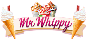 Mr Whippy Ice Cream Van Hire, Bristol Logo